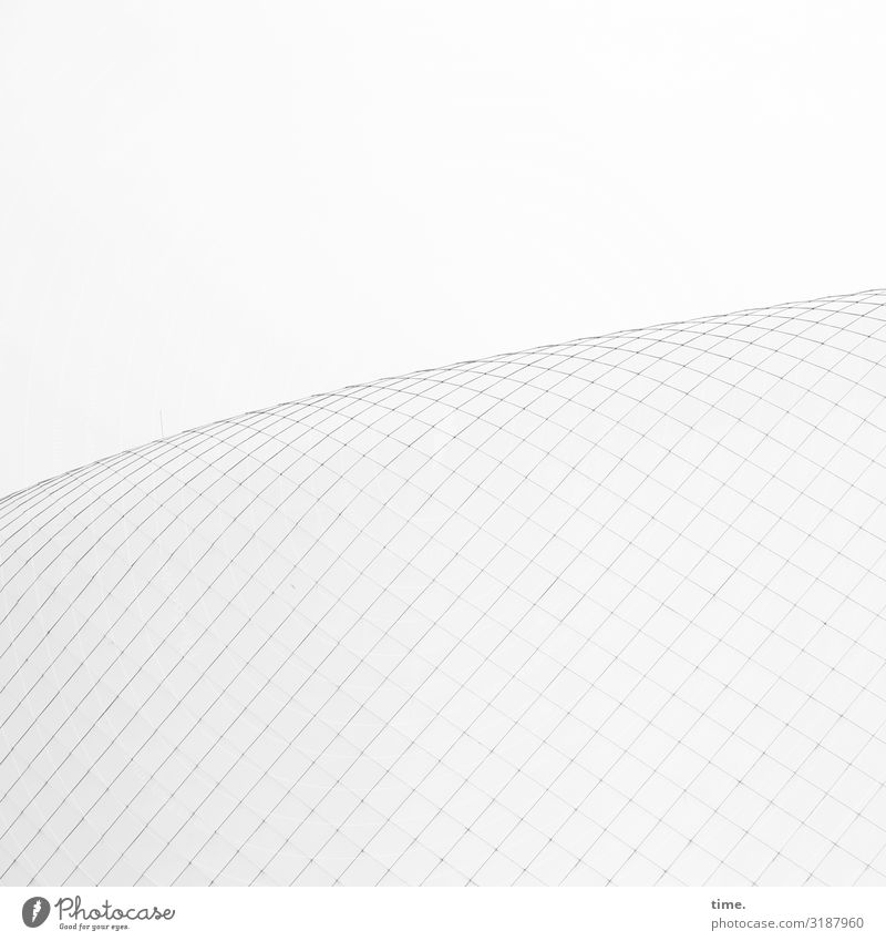 Network coverage Surface lines Gray Moody Inspiration Parallel Diagonal Architecture building material Pattern structure network structure Sky detail Roof
