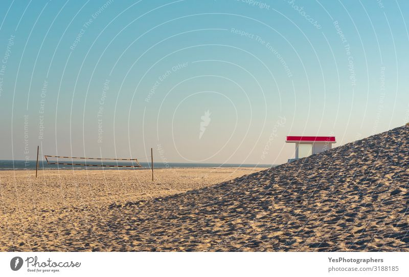 Summer landscape at the North Sea. Sylt beach Vacation & Travel Tourism Summer vacation Sun Beach Nature Landscape Sand Water Sky Sunlight Climate change