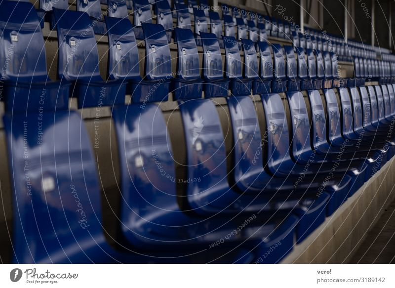 Sit down, sit down. Stands Sporting Complex Chair Select Utilize Crouch Wait Esthetic Simple Together Original Athletic Blue Emotions Joy Happy Enthusiasm