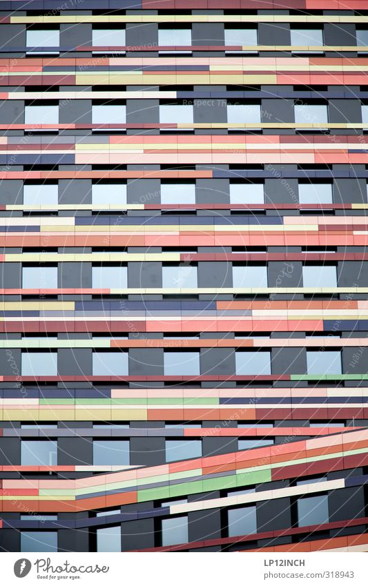 WILHELMSBURG | CIRCUS Wilhelmsburg Germany Port City High-rise Building Architecture Facade Window Work and employment Multicoloured Business Design