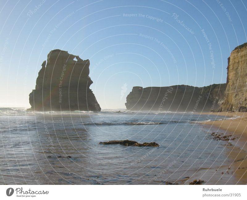 Water Beach Waves Rock Australia Surf White crest Great Ocean Road