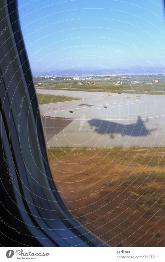 arrive Airplane Airplane landing Vacation & Travel Tourism Majorca Airport Palma de Majorca Ballermann bachelor party