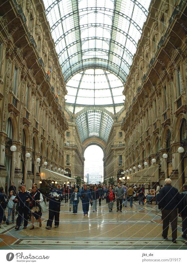 Galleria Vittorio Emanuele Milan Architecture 1877 Mengoni Glass sky eclecticism