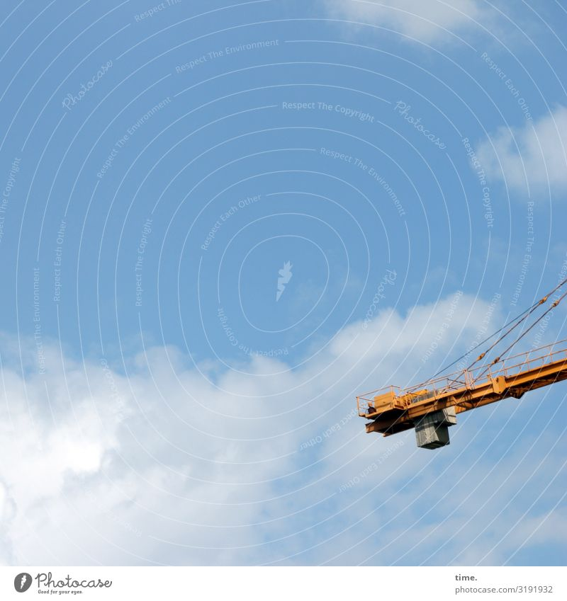 City giraffes (4) Work and employment Workplace Construction site Technology Industry Sky Clouds Beautiful weather Crane Metal Bright Tall Power Watchfulness