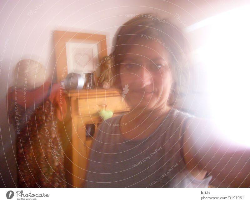 Woman Human being Adults Feminine Moody Dream Surrealism Cupboard