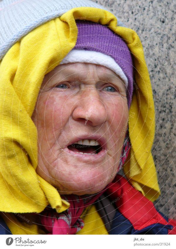 Woman Senior citizen Cap Russia Excitement Headscarf Female senior