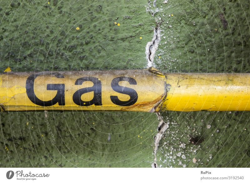 Gas Nature Yellow Wall (building) Environment Business Wall (barrier) Work and employment Design Fear Energy industry Technology Industry Climate Sign