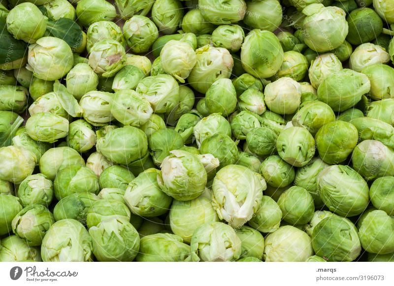 cabbage Food Vegetable Brussels sprouts Nutrition Organic produce Vegetarian diet Farmer's market Fresh Healthy Many Colour photo Exterior shot Close-up