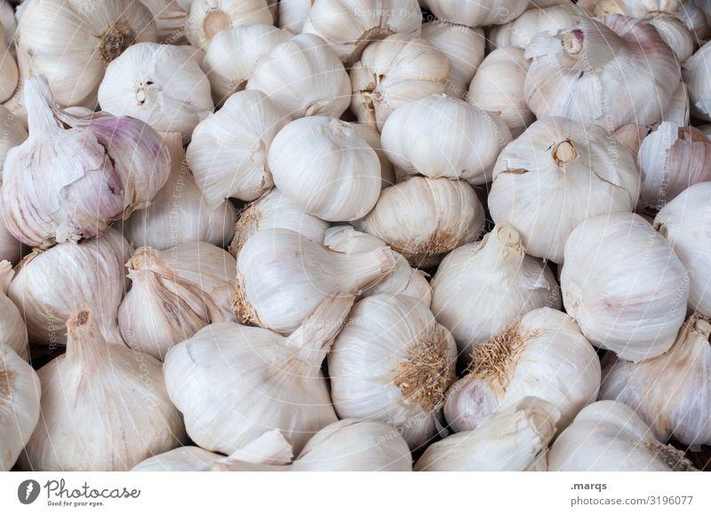 Garlic (40%) Food Vegetable Clove of garlic Nutrition Farmer's market Organic produce Organic farming Fresh Healthy Many Colour photo Exterior shot Close-up