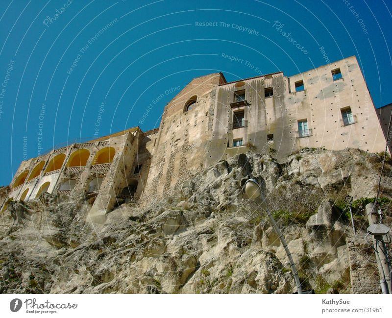 rock house Italy Historic Rock Perspective Stone Architecture