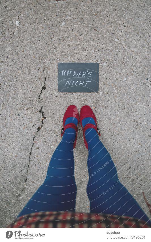 Woman Street Legs Stand Information Asphalt Thin Word Blackboard Crack & Rip & Tear Text Whimsical Communication Mini skirt High heels Handwriting
