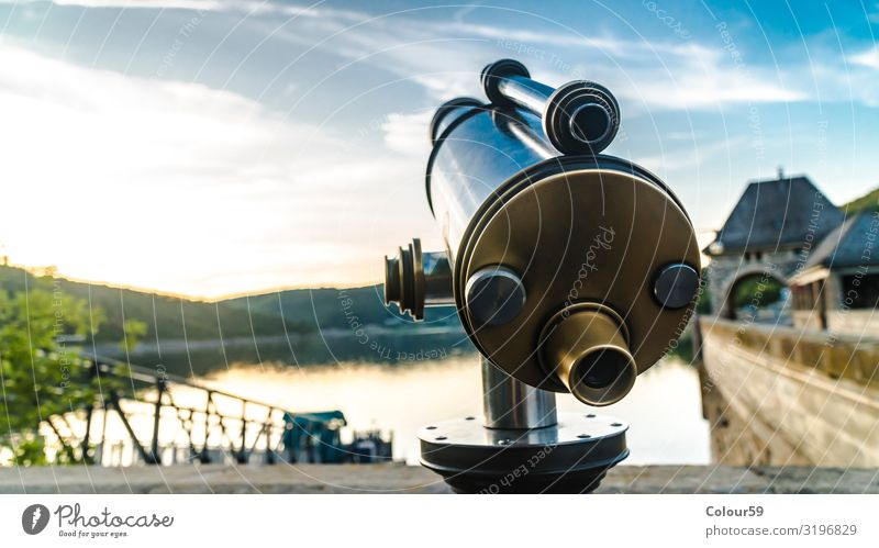 Telescope Telescope in detail Vacation & Travel Tourism Trip Far-off places Sightseeing Summer Summer vacation Nature Tourist Attraction Landmark Monument
