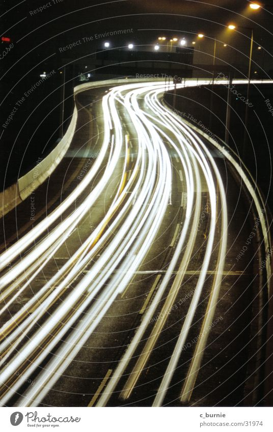 A 100 Night Highway Long exposure Light Street speediness