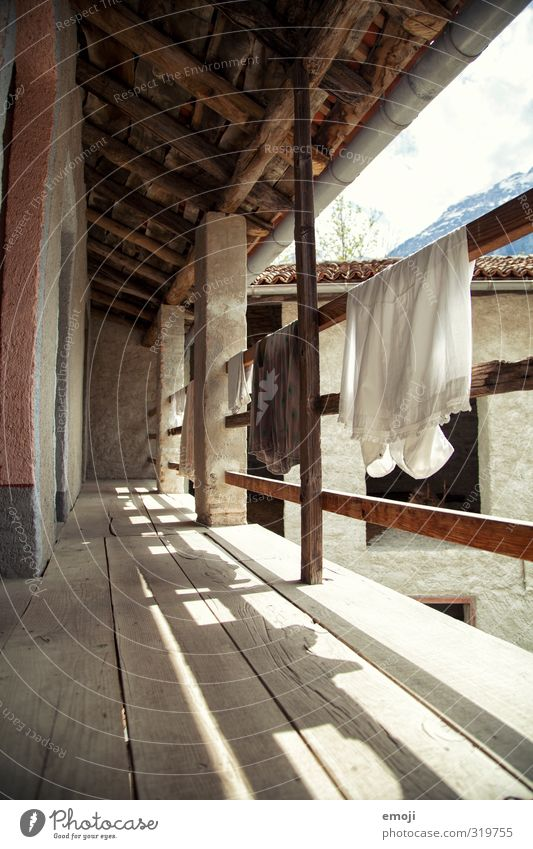 Old House (Residential Structure) Wall (building) Wall (barrier) Natural Retro Handrail Hut Sustainability Rag Old fashioned Cotton Detached house Old-school
