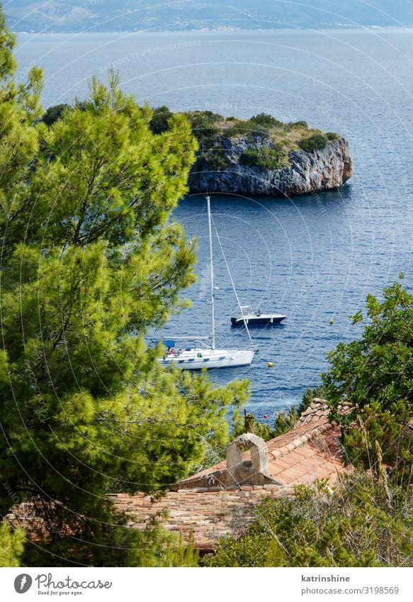 Porto Infreschi, Marina di Camerota, Salerno, Italy Beautiful Ocean Nature Landscape Coast Lanes & trails Yacht Watercraft Blue Bay porto Protected sea area
