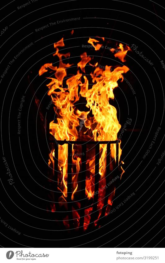 fiery Warmth Wood Hot Romance Firewood fire basket Flame Embers hardwood Heating Smoke incineration Ignite Burn burning burning fire Burning wood photography
