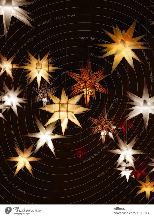 Christmas & Advent Illuminate Star (Symbol) Christmas decoration Christmas star Christmas fairy lights