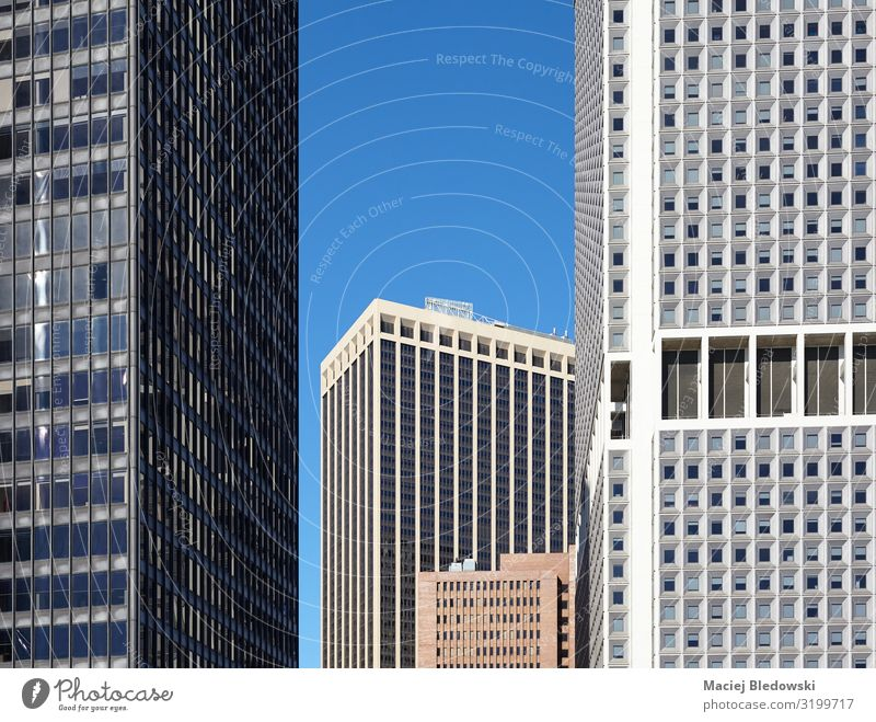New York skyscrapers, architectural background. City trip Living or residing Flat (apartment) Office Construction site Business Town High-rise Bank building