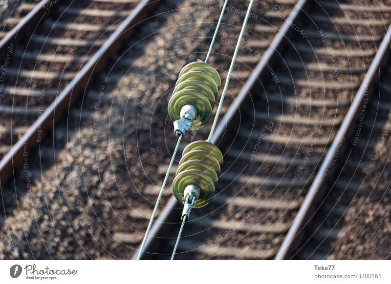 railway overhead line Vacation & Travel Transport Means of transport Traffic infrastructure Passenger traffic Public transit Rush hour Rail transport