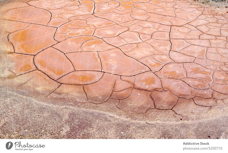 Dry rock surface in cracks Rock Crack & Rip & Tear Broken arid Drought Gray Surface Stone Abstract Old Nature Material Rough Dirty Natural Ground mineral