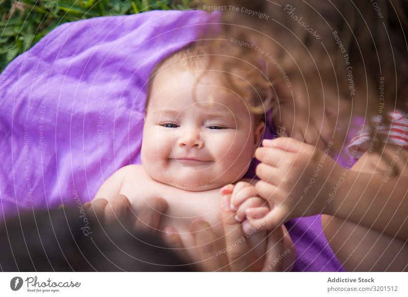 From above shot of cute baby lying and laughing. Baby Funny Laughter Child Small Cute Delightful Sweet Joy Home Lie (Untruth) Lovely Innocent Cheerful Smiling