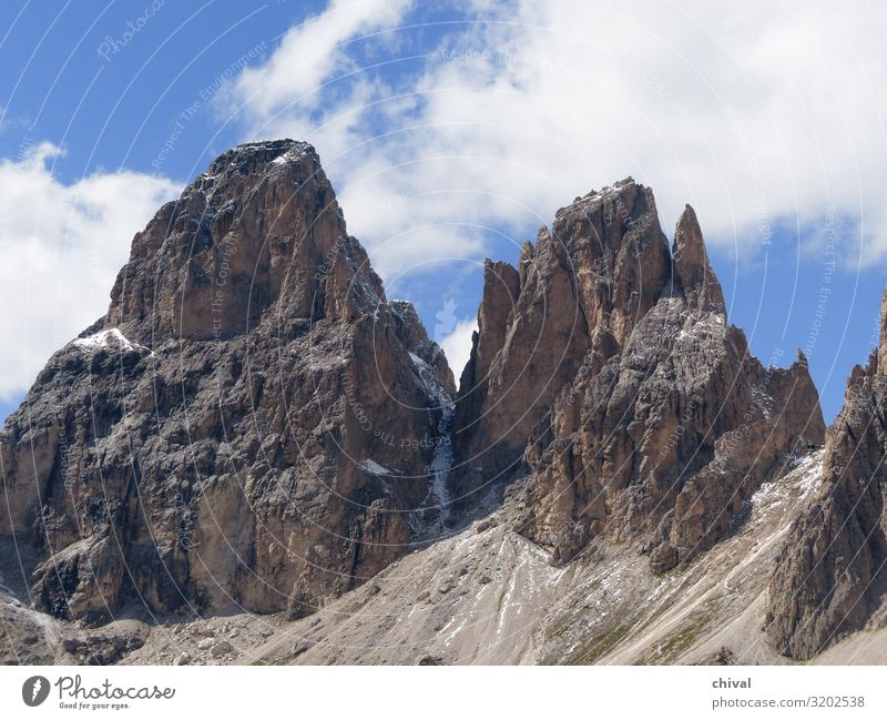 Rock Giants Vacation & Travel Tourism Trip Summer Mountain Hiking Climbing Mountaineering Landscape Air Sky Clouds Peak Discover Threat Colour photo