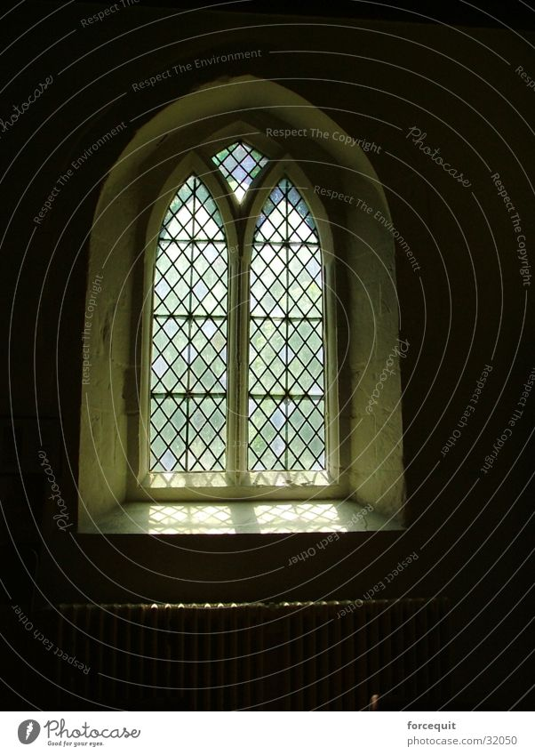 Holy Window Historic church window holy