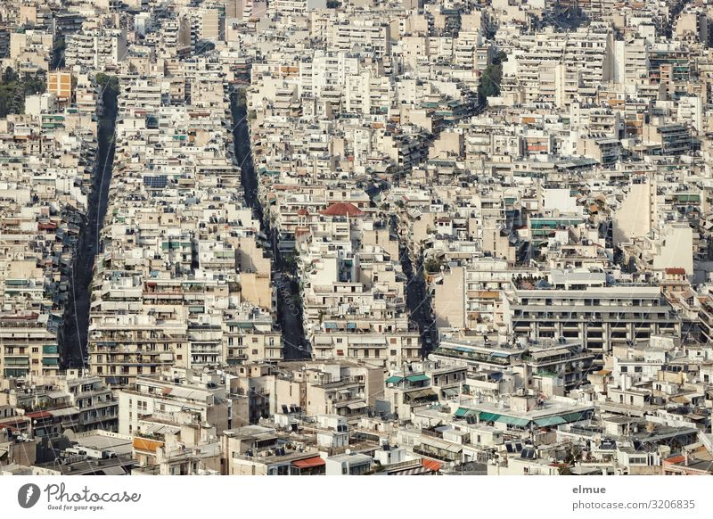 Athens Lifestyle Vacation & Travel City trip Living or residing Greece Capital city Downtown Populated Overpopulated House (Residential Structure) High-rise
