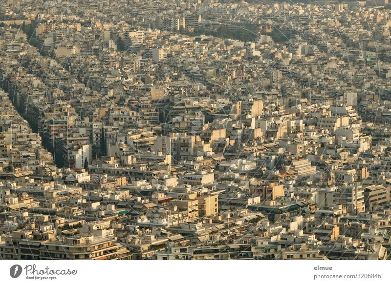Athens Vacation & Travel Tourism Sightseeing City trip Greece Capital city Downtown Overpopulated House (Residential Structure) High-rise Building Gigantic