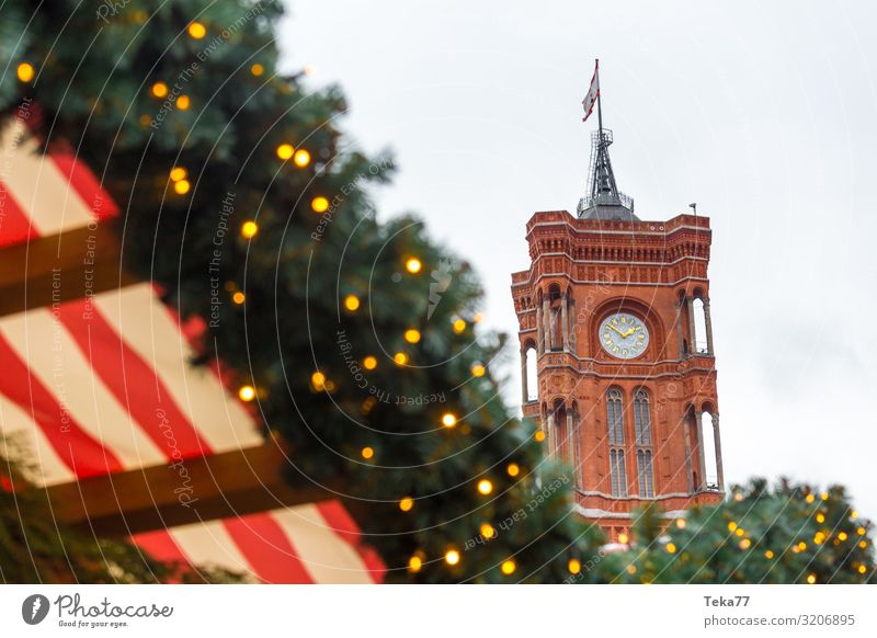 Berlin at Christmas time #1. Town Capital city Esthetic Christmas season Christmas & Advent Christmas Fair Colour photo Exterior shot