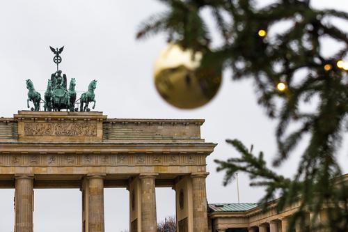 Berlin at Christmas time #1. Town Capital city Esthetic Christmas & Advent Christmas tree Christmas Fair Colour photo Exterior shot
