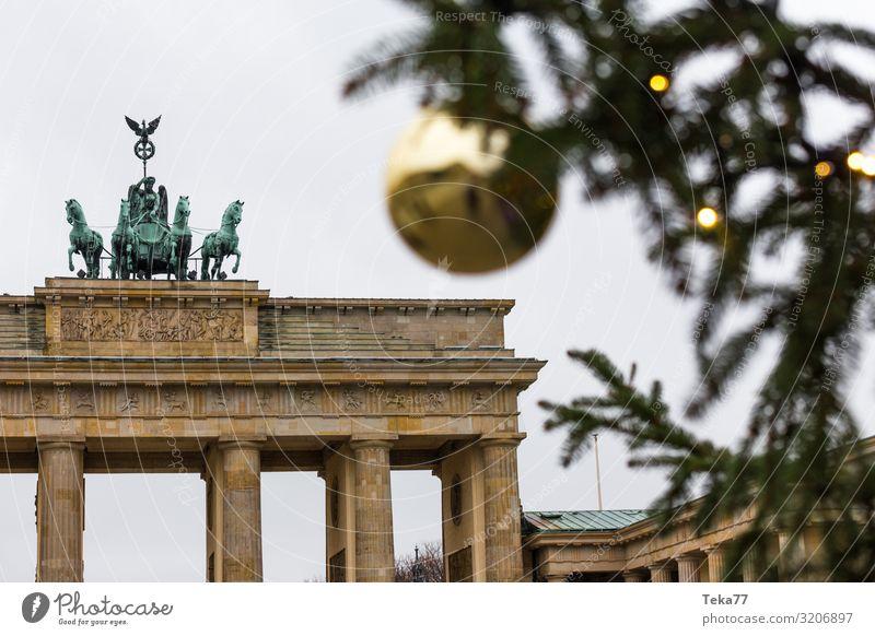 Christmas & Advent Town Berlin Esthetic Capital city Christmas tree Christmas Fair