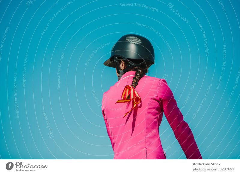 Girl riding horse woman jump bar racetrack ride sport animal equestrian training active leap over horseback equine purebred event motion barrier obstacle
