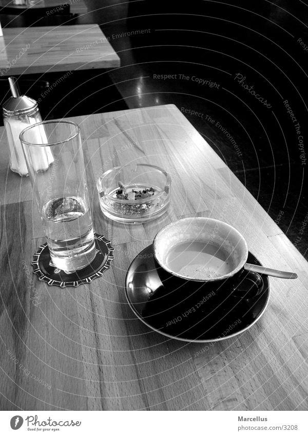 coffeeshop Loneliness Cozy Black & white photo