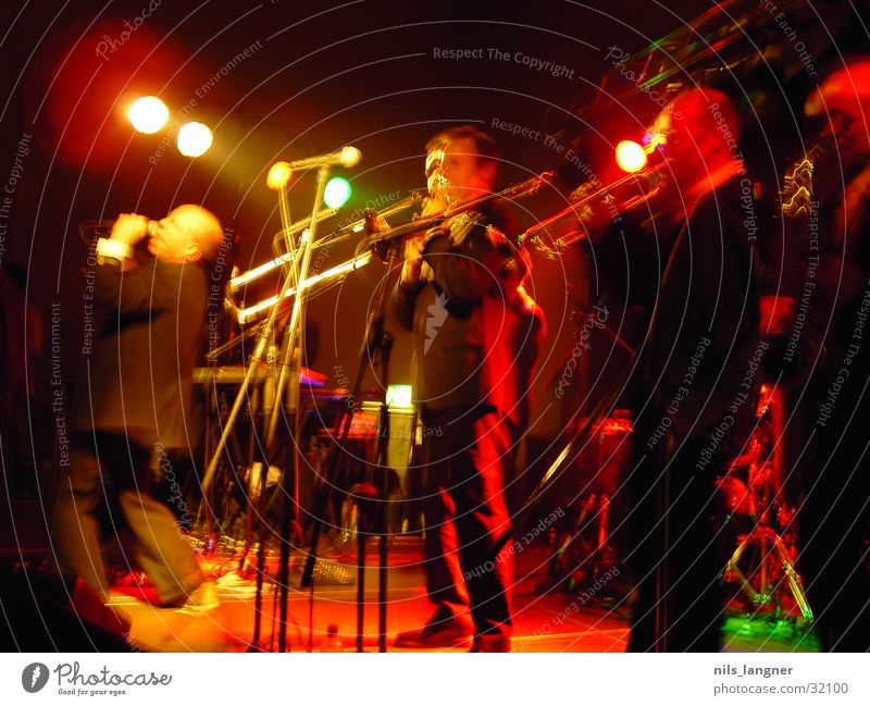 Red Dark Music Concert String Freiburg im Breisgau