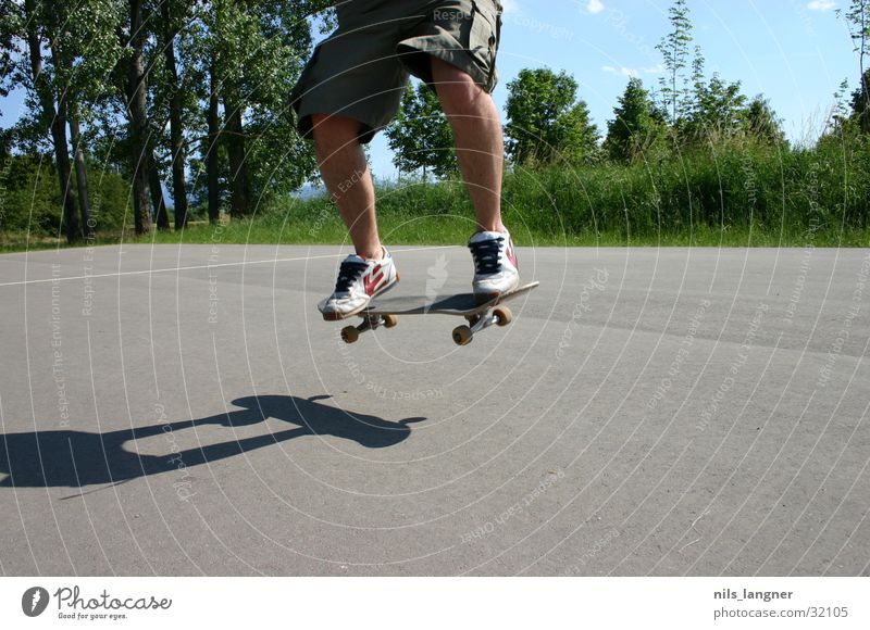 Sports Air Skateboarding