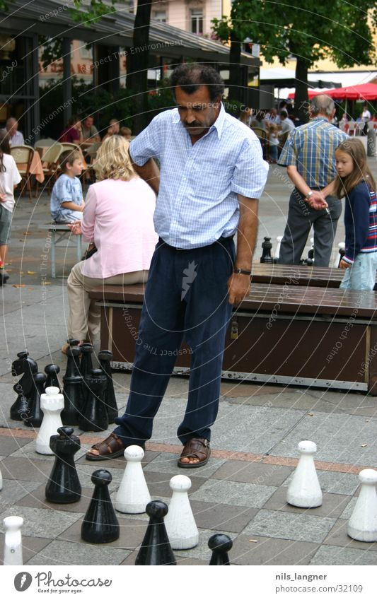 chess Philosopher Man Turk Canton Tessin Railroad Chessboard Chess piece