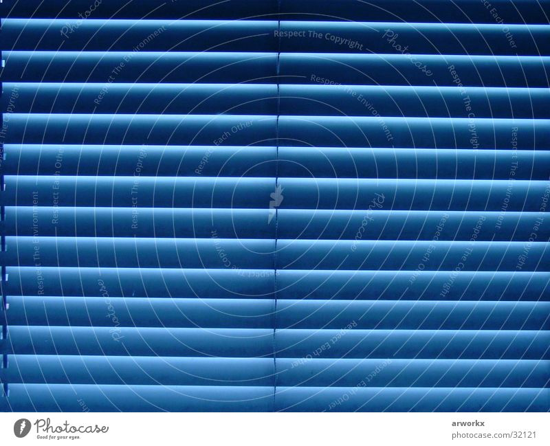 Beautiful Blue Window Graffiti Living or residing Fantastic Venetian blinds