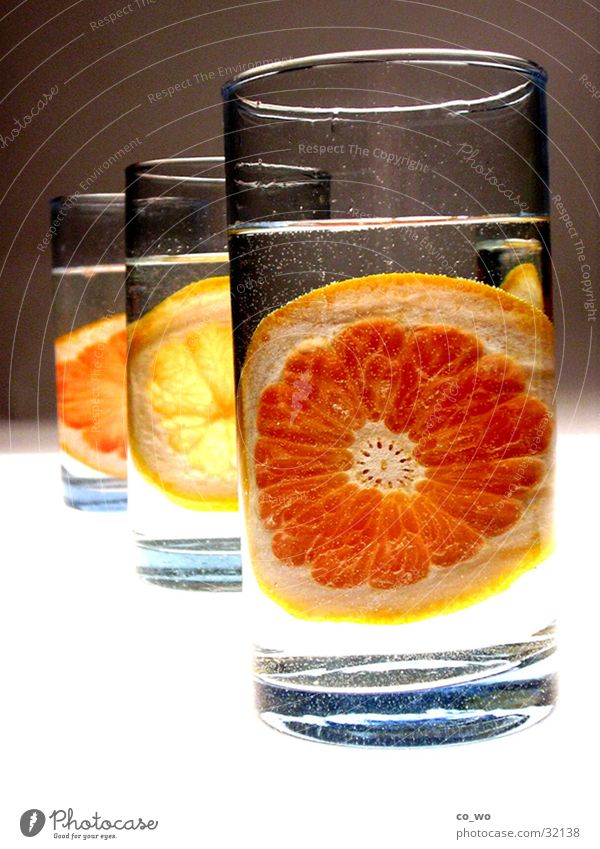 Orange Glass Beverage Bar Row Alcoholic drinks Cocktail Lemon Fruit