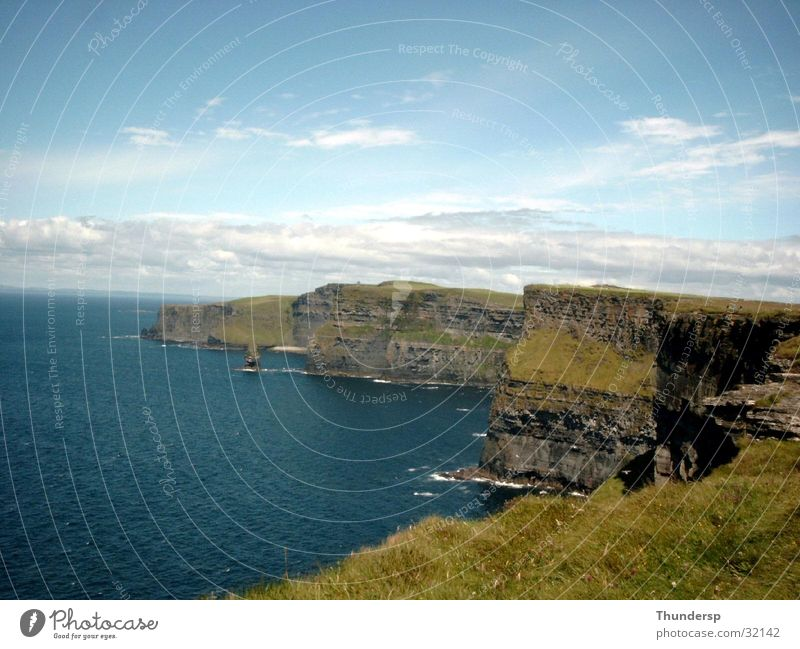 Cliffs of Moher Ocean Summer Europe Ireland