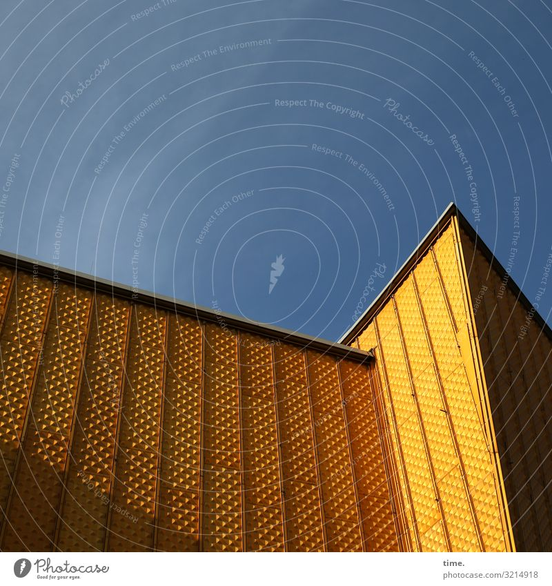 musical box Sky Beautiful weather Berlin Berlin Philharmonic Capital city Downtown Manmade structures Building Architecture Hall Wall (barrier) Wall (building)