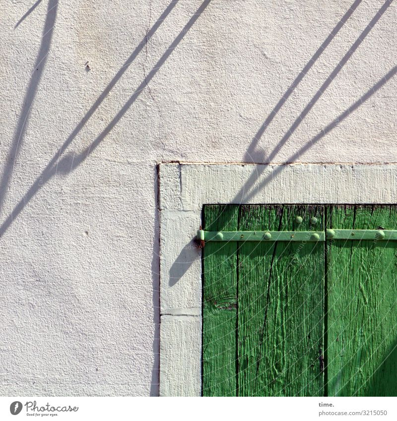 Shadow Playhouse House (Residential Structure) Connection Facade Window Window frame Whimsical Diagonal Light (Natural Phenomenon) Lighting effect