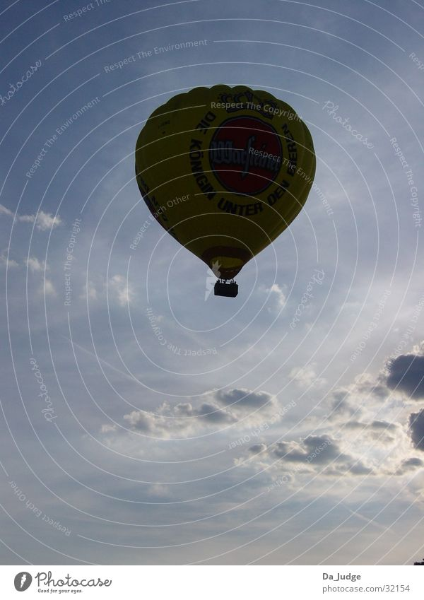 Sun Vacation & Travel Clouds Air Aviation Hot Air Balloon In transit