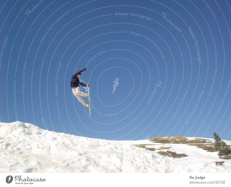 Winter Mountain Snow Sports Snowboarding Snowboarder Winter sports Kitzbühel Alps Air