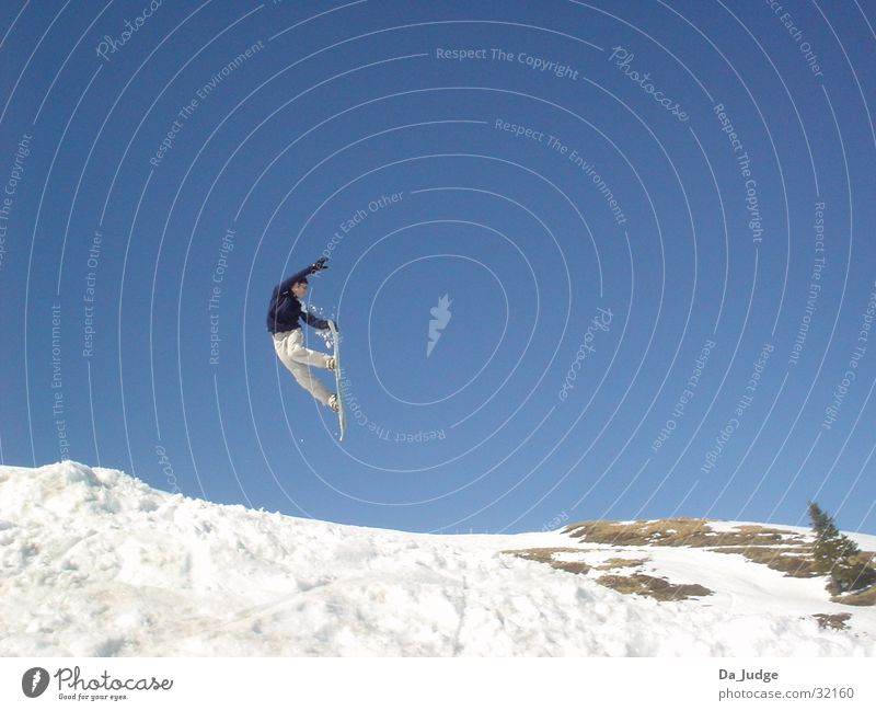 Winter Mountain Snow Sports Snowboarding Snowboarder Winter sports Kitzbühel Alps Air