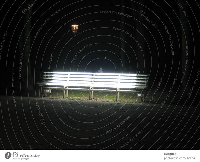 Lamp Lanes & trails Park Lighting Sit Bench Lantern Obscure