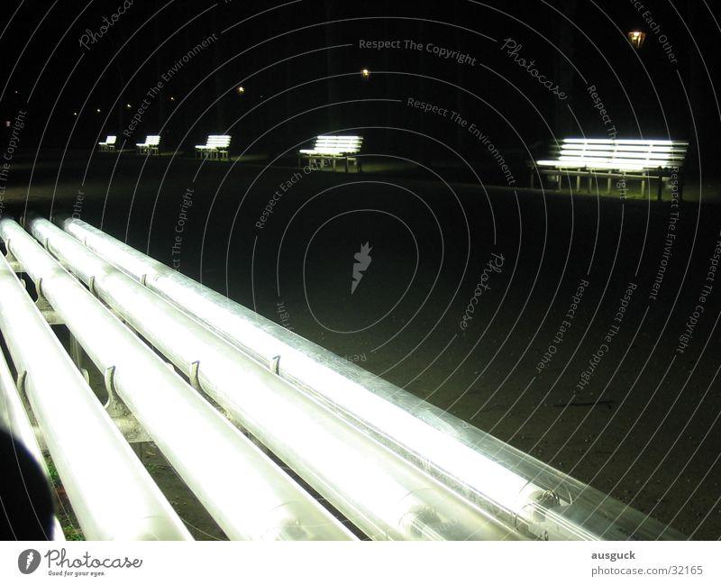 Lamp Lanes & trails Park Sit Bench Lantern Obscure