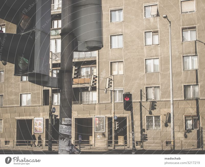 Man Town House (Residential Structure) Loneliness Window Architecture Lifestyle Adults Building Facade Living or residing Flat (apartment) Gloomy Poverty