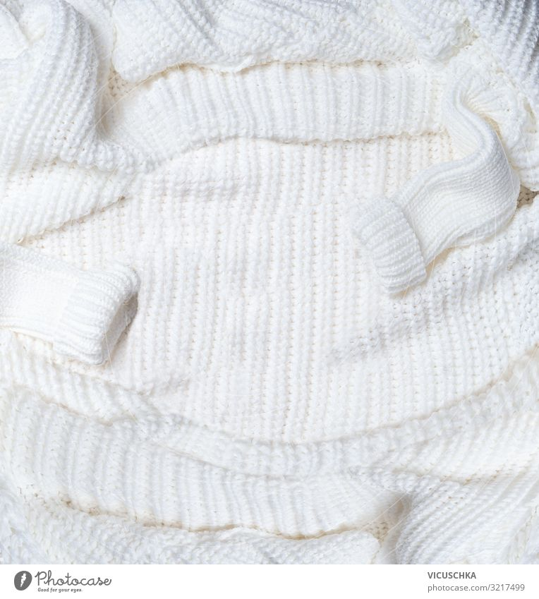 White knitted sweater background Style Design Winter Living or residing Sweater Hip & trendy Soft Background picture Material Wool Knitted Colour photo Close-up