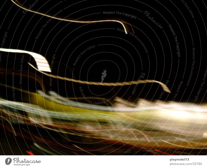 seemless Night Smear Checkmark Green White Horizon Moody Transport Movement motion Motion blur level mood